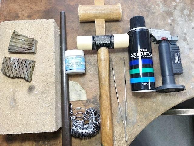 彫金工具一式