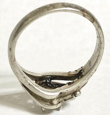 汚れた指輪