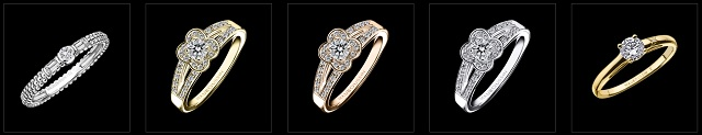 モーブッサンの婚約指輪