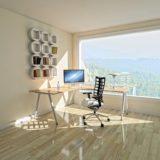 パソコンと椅子のある部屋