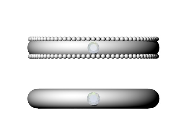 ストレートの指輪の比較