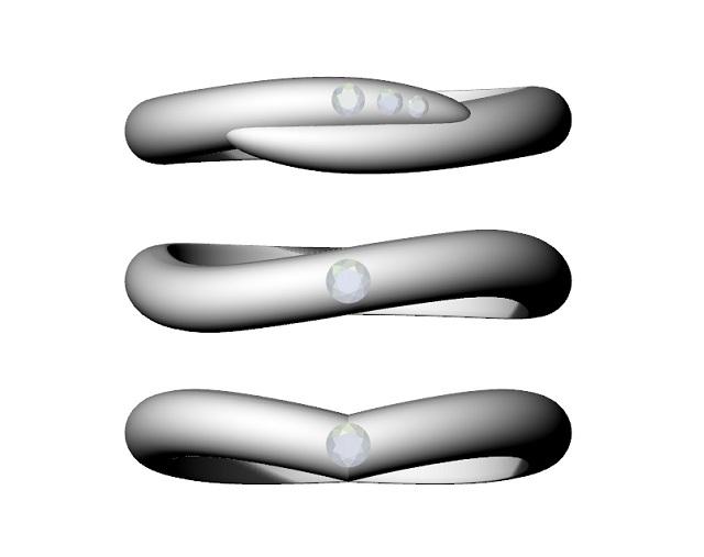 3本の指輪の比較