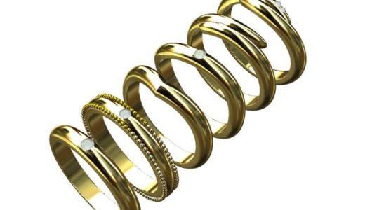 [結婚指輪]甲丸や平打ちって何?プロおすすめのデザイン
