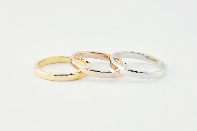 鏡面の指輪