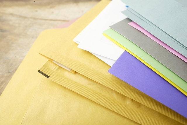 沢山の封筒