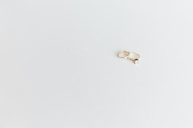 2本の結婚指輪